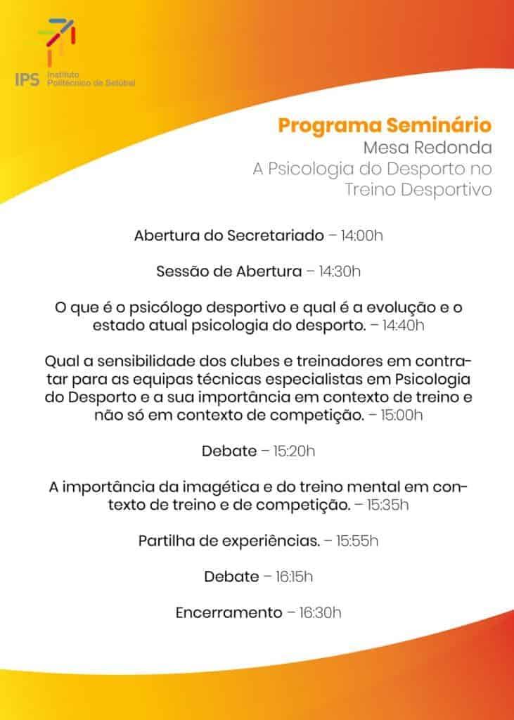 IP Setúbal - Nuno Cortez - Psicologia no Desporto