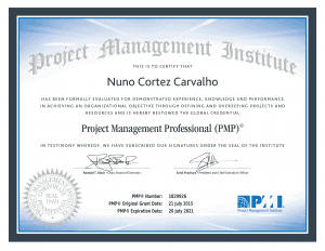 nuno cortez project manager professional